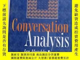 二手書博民逛書店Conversation罕見Analysis會話分析Y21828