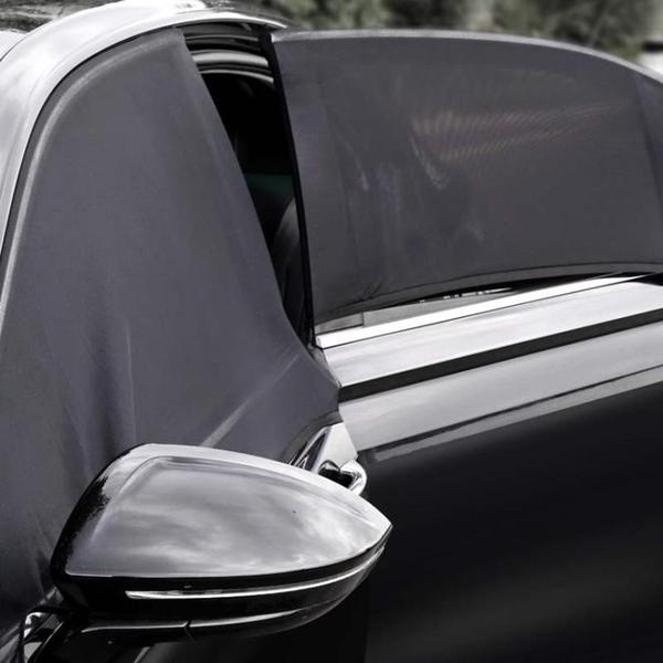 車用防蚊紗窗 汽車紗窗防蚊蟲磁吸蚊帳車用窗簾車載紗網磁性天窗遮陽自駕游防曬 一木良品