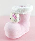 【震撼精品百貨】Hello Kitty 凱蒂貓~聖誕擺飾/吊飾-kitty圖案-迷你聖誕靴-粉色