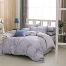 鴻宇 雙人加大兩用被床包組 天絲 萊賽爾 紫韻 台灣製T20101