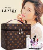 旅行化妝包 化妝包大容量便攜簡約可愛手提化妝箱多層小號收納盒品袋韓國男女全館滿千88折