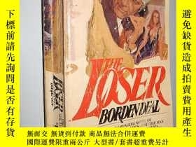 二手書博民逛書店The罕見Loser by Borden Deal 英文原版12
