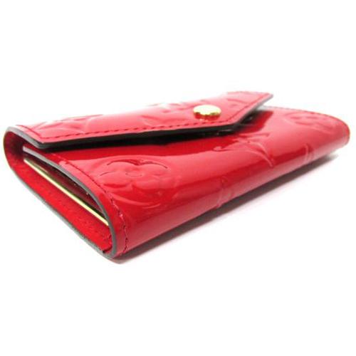 Louis Vuitton LV M90900 Vernis皮革經典壓花6孔鑰匙包.紅 全新 預購【茱麗葉精品】