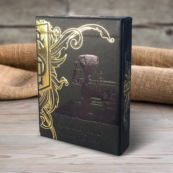 【USPCC 撲克】unbranded golden spike black ink Playing Cards 限量版