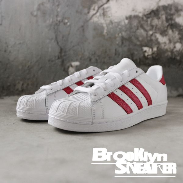 Adidas Originals Superstar C 白粉 蛇紋休閒鞋 女鞋 (布魯克林) 2019/1月 EE9151