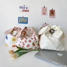 便當包日式帆布便當袋手提包兔耳朵飯袋便當...