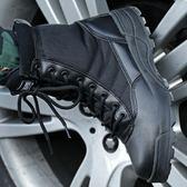 特種兵軍靴男作戰靴戶外登山靴陸戰靴沙漠戰術靴耐磨超輕軍鞋