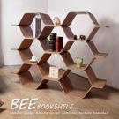 收納櫃 書架 陳列架 隔間櫃  自然木作蜂巢式三層屏風櫃/質感推薦【H&D DESIGN 】