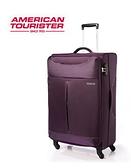 AT美國旅行者 31吋 Sky商務休閒可擴充布面 行李箱/旅行箱-(紫/灰) 25R