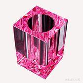 創意個性筆筒時尚歐式水晶辦公商務禮品教師節送老師禮品    LY5010『M&G大尺碼』