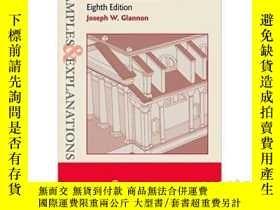 二手書博民逛書店舉例說明:《民事訴訟程序》,第8版罕見Examples & Ex