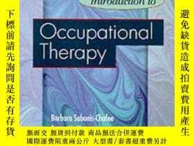 二手書博民逛書店Introduction罕見to Occupational Therapy-作業療法導論Y361738 Bar