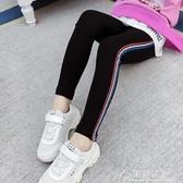 女童秋冬長褲-女童打底褲秋裝新款韓版中大童時髦兒童裝超洋氣修身小腳褲子 花間公主