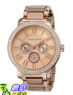 [美國直購 USAShop] 手錶 Vince Camuto Women s VC/5000RGRG Multi-Function Bracelet Watch $11030