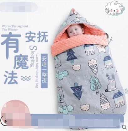 睡袋嬰兒秋冬加厚寶寶防驚跳