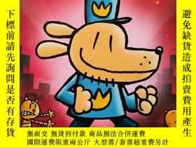 二手書博民逛書店[英文原版]罕見Dog Man 3: A Tale of Two