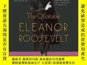 二手書博民逛書店The罕見Quotable Eleanor RooseveltY
