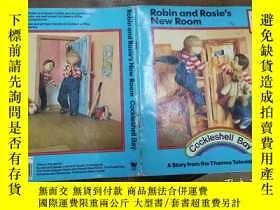 二手書博民逛書店robin罕見and rosie s new roomY2716