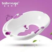 寶貝時代寶寶洗澡盆嬰兒浴盆新生兒用品小孩兒童洗澡加厚沐浴桶