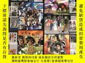 二手書博民逛書店罕見日版 INTRON DEPOT 4 BULLETS 士郎正宗