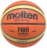 Molten GR7D 籃球 7號 BGR7D 籃球 附球針球網 12片 深溝 公司貨 橘色 FIBA認證 [陽光樂活]