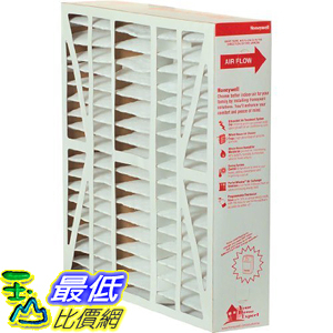 [106美國直購] Honeywell FC100A1037 Ultra Efficiency Air Cleaning Filter, 20X25-Inches