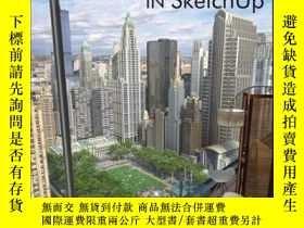 二手書博民逛書店Rendering罕見in SketchUp: From Modeling to Presentation for