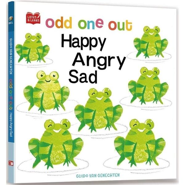 Odd One Out. Happy Angry Sad(附美籍教師朗讀音檔)【