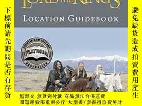 二手書博民逛書店Lord罕見of the Rings Location Guid