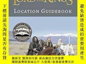 二手書博民逛書店Lord罕見of the Rings Location Guid
