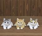 《齊洛瓦鄉村風雜貨》日本zakka雜貨 貓咪系列 擺飾 動物模型 趴著小貓咪擺飾 可愛小貓咪裝飾