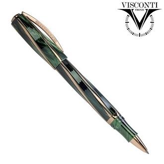 義大利 VISCONTI Divina Elegance 綠 鋼珠筆 /支 KP18-01-RB
