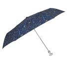 〔小禮堂〕Hello Kitty 抗UV造型柄折疊雨陽傘《深綠.太空裝》折傘.雨傘.雨具 4547128-18021