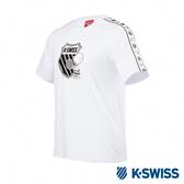 K-SWISS Tape T-Shirt SNOOPY聯名短袖T恤-男女-白