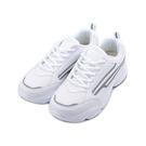 COMBAT 厚底反光運動鞋 白 225...