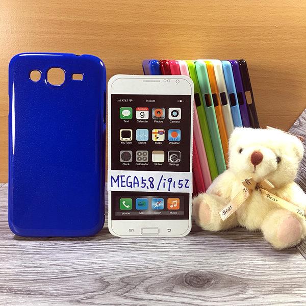 ◎大都會保護殼 Samsung Galaxy Mega 5.8 I9150/i9152 保護殼 TPU 軟殼 閃粉 矽膠殼 手機殼 背蓋