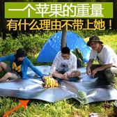 2張 防潮墊戶外野餐墊單人帳篷睡墊鋁膜郊遊【奈良優品】