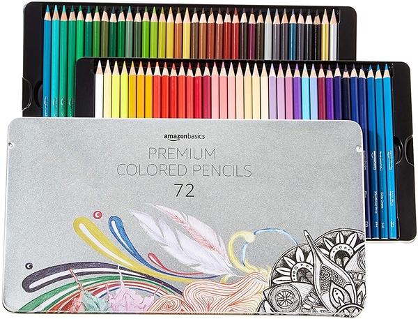 [9美國直購] 彩色鉛筆 AmazonBasics Soft Core Colored Pencils - 72-Count Set B07D94BYN7