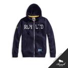 【Roush】 美式立體鋼印刷毛連帽外套...