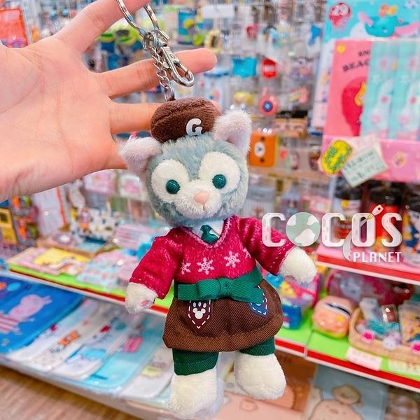 香港迪士尼 冬季 2016聖誕節版 傑拉托尼 畫家貓 站姿款 絨毛娃娃吊飾 COCOS TN650