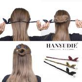 盤發神器韓國造型器丸子頭百變懶人發飾品花苞頭蓬松淑女成人頭飾