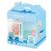 Philips飛利浦 - 安撫奶嘴3號香草1入 +小藍鯨收藏盒 350元