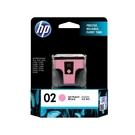 HP NO.02 02 淡紅色 原廠墨水匣 PS3110/3310/C5180/C6180/C6280/C7180/C7280