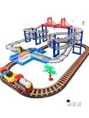 軌道玩具套裝軌道電動汽車恐龍男孩玩具高鐵和諧號XW 快速出貨