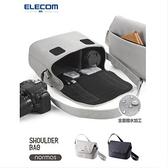 ELECOM單肩單反休閒相機包佳能尼康斜挎攝影包微單便攜包DGB-S031 小山好物