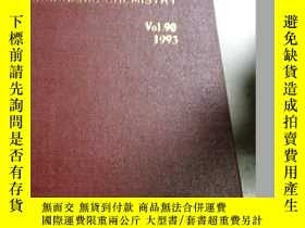 二手書博民逛書店Annual罕見Reports(年度報告)Vol.90 1993