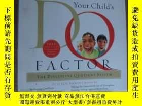 二手書博民逛書店Discover罕見your child s DQ FACTOR