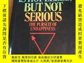 二手書博民逛書店Situation罕見Is Hopeless But Not S