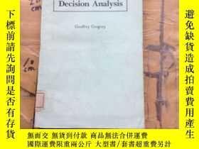 二手書博民逛書店Decision罕見AnalysisY11418 G. Greg