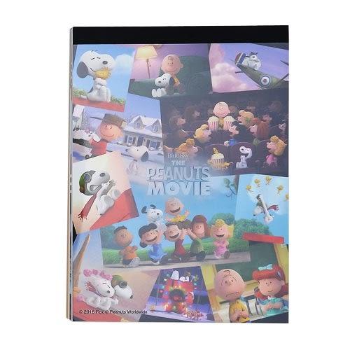 《sun-star》SNOOPY-史努比 The Peanuts Movie系列B7便條本(集合寫真)★funbox生活用品★ OP47820